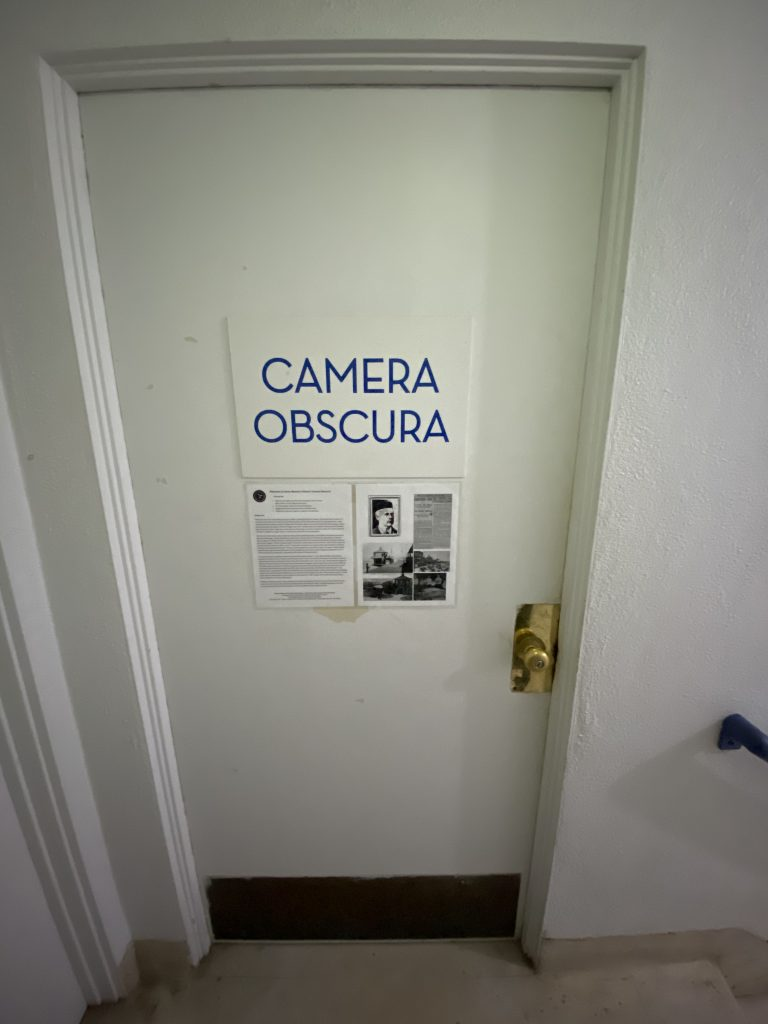 Amara Andrew- Door to the Camera Obscura in Santa Monica