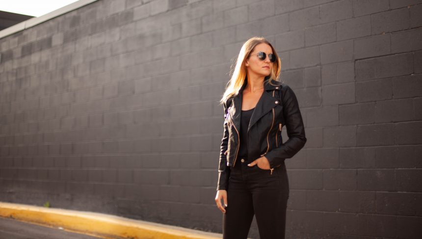 Amara Andrew- Leather Motorcycle Jacket