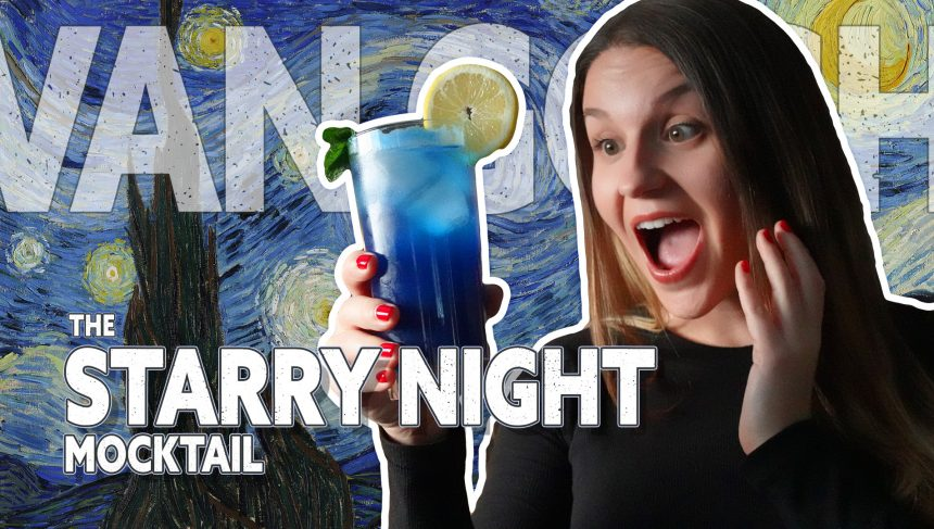 Amara Andrew- The Starry NIght Mocktail